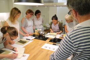 cours de cuisine en team building
