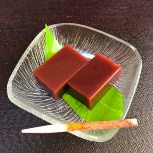 gelée de haricot dessert japonais