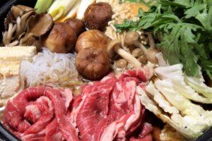 ingrédients recette sukiyaki