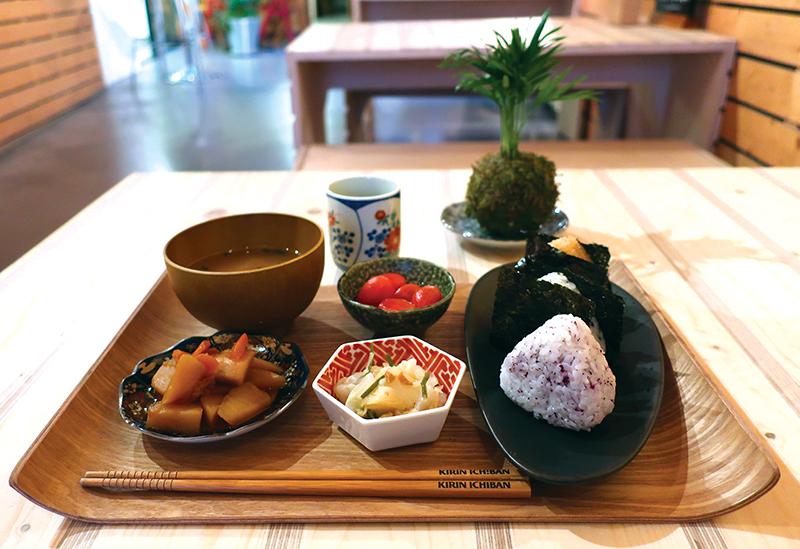 déjeuner japonais