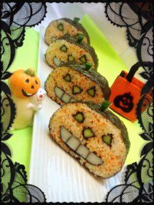 halloween sushi