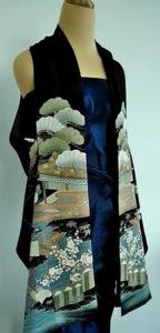 exposion espace japon ancien kimono