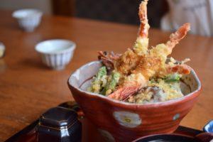 tendon tempura