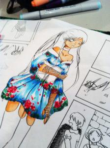 atelier dessin manga expo