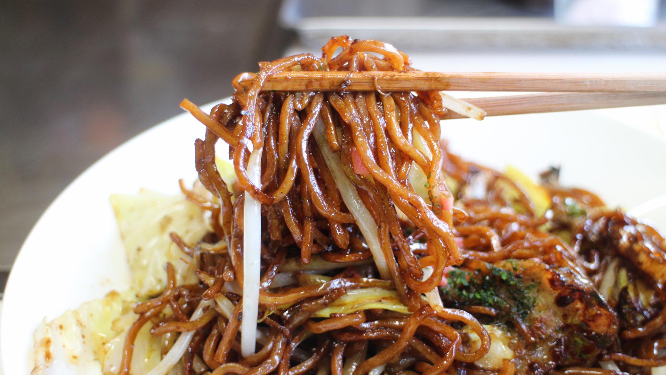 Cours de cuisine japonaise en ligne yakisoba