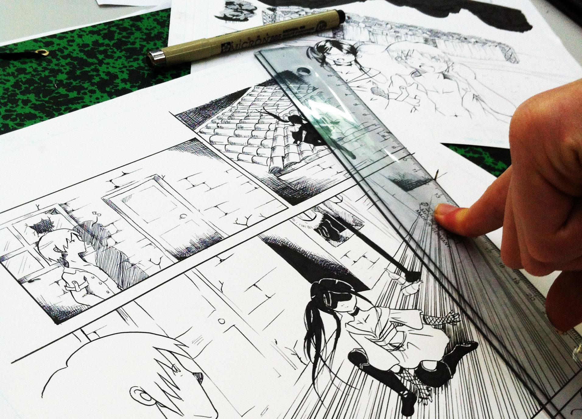 Stages de dessin manga | Vacances d'été 2021