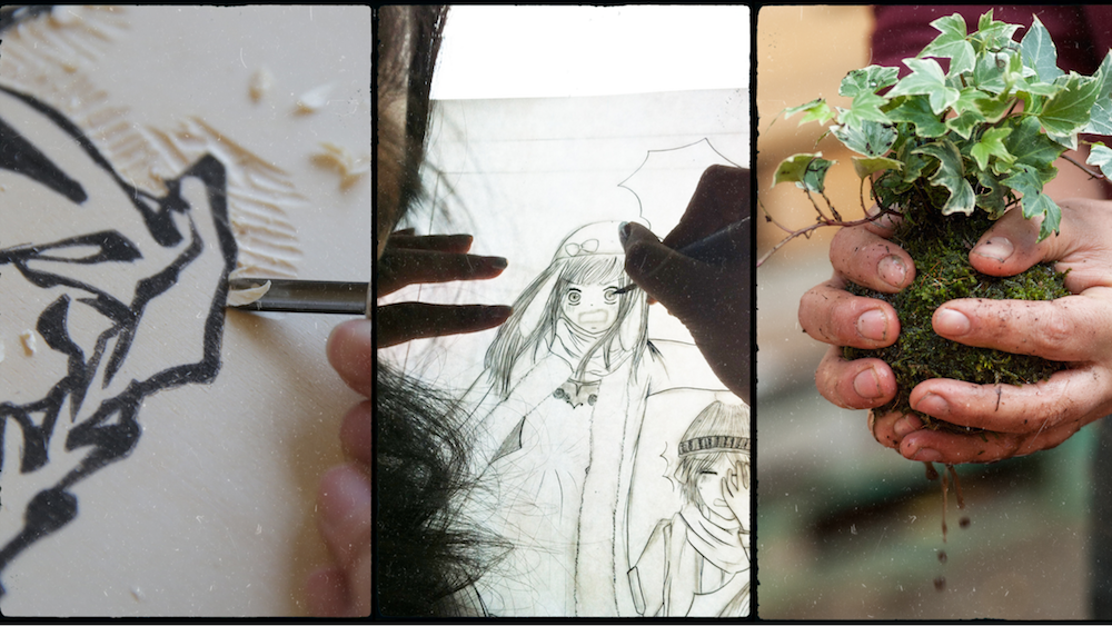 Ce week end à Espace Japon : estampe, dessin manga, calligraphie, atelier pâtisserie ...
