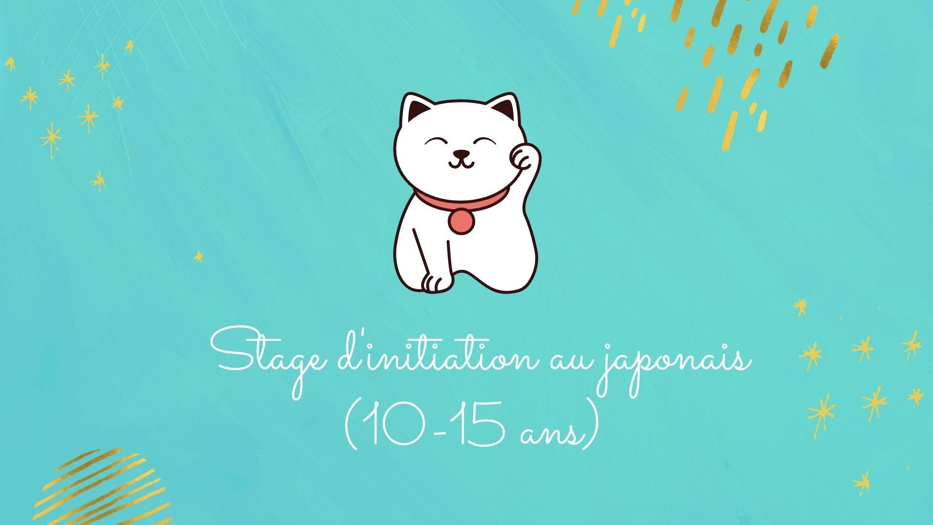 Vacances de la Toussaint: stage d'initiation au japonais pour enfant (10-15 ans)